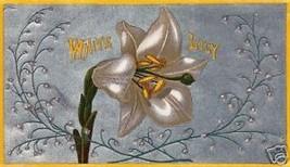 White Lily Vintage Cigar Label Print - $14.84