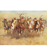 Victory Dance by Frederic Remington Indians Giclee - $93.06
