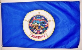 State of Minnesota Flag 3' X 5' Indoor Outdoor State Banner - $9.95