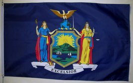State of New York Flag 3' X 5' Indoor Outdoor State Banner - $9.95
