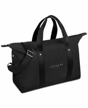 COACH Travel Duffel Weekender Black Bag Fragrance Promotion NEW - $64.30