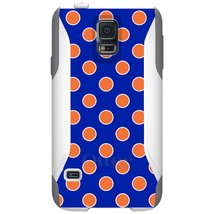 CUSTOM White OtterBox Commuter Series Case for Samsung Galaxy S5 - Orang... - $39.58