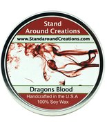 Premium 100% Soy Candle - 16 oz Tin - Dragon's Blood - A potent earthy s... - $16.99