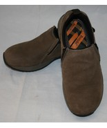 Bjorndal Brown Leather Slip On Shoes Mens 8 Colorado Casual - $40.74