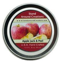 Premium 100% Soy Candle - 2oz Tin - Scent: Apple Jack & Peel - A irresis... - $6.99