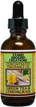 Concentrated Fragrance Oil - Scent - Green Tea and Lemon Grass: This bri... - $23.99