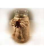 Handcrafted Votive Candle Holder Country Lodge Decor - $8.99