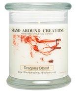 Premium 100% Soy Candle - 12 oz. Status Jar - Dragon's Blood - A potent ... - $19.99