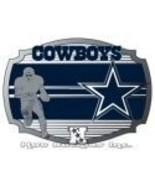 Dallas Cowboys Officialy Licensed Nfl Belt Buckle - $15.00
