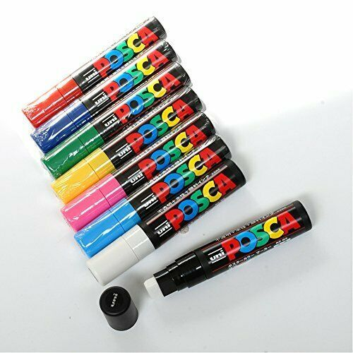 Mitsubishi Pencil Co., Ltd. aqueous pen Posuka thick Sumishin PC17K.6 green