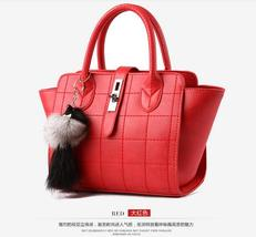 Fashion New Women Leather Tote Bags Medium Shoulder Bags P061-1 - $37.99