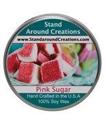 Premium 100% All Natural Soy Tureen Candle - 8 oz. -Pink Sugar: Fresh, w... - $13.99