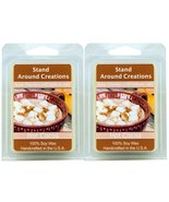 Set of 2 - 100% All Natural Premium Soy Aromatherapy Wax Melt Tarts 3 oz... - $11.98