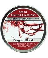 Premium 100% Soy Candle - 8oz Tin - Dragon's Blood - A potent earthy sce... - $12.99