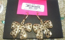 BETSEY JOHNSON BOWS WITH GORGEOUS JEWELS, CRYSTALS AND STONES NWT $45! image 4
