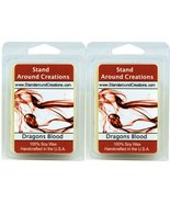100% Soy Wax Melt Tarts - Set of 2 - Dragon's Blood - A potent and earth... - $11.98