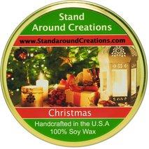 Premium 100% Soy Tureen Candle - 11 oz. Christmas - Orange spice notes f... - $15.99