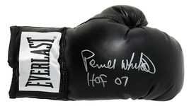 Pernell Whitaker Signed Everlast Black Boxing Glove w/HOF'07 - Schwartz - $91.95