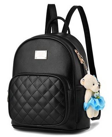Medium Students School Backpacks Leather Bookbags,Backpacks D073-1
