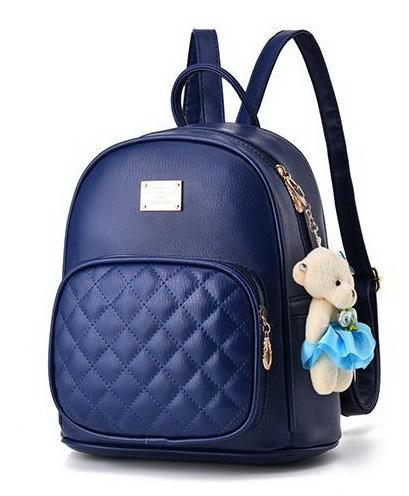 Medium Students School Backpacks Leather Bookbags,Backpacks D073-1 image 3