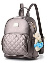 Medium Students School Backpacks Leather Bookbags,Backpacks D073-1 image 5