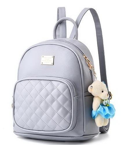 Medium Students School Backpacks Leather Bookbags,Backpacks D073-1 image 6