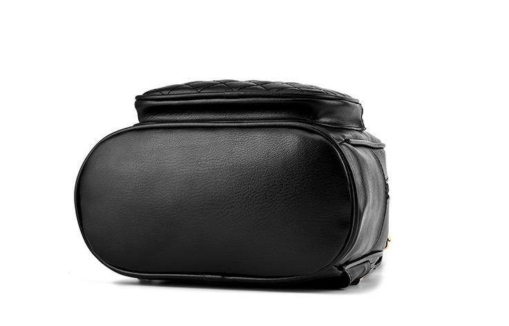 Medium Students School Backpacks Leather Bookbags,Backpacks D073-1 image 10