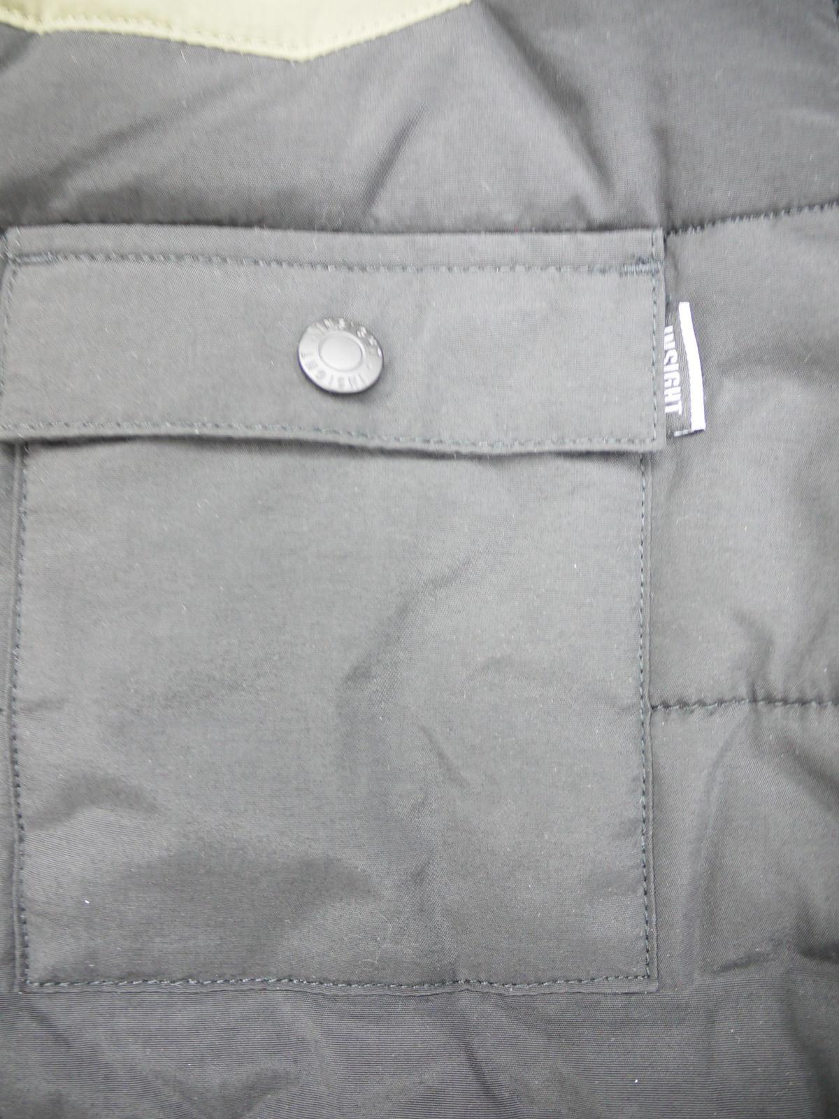 I5PCBKMM35 insight Heavyweight Puffer Black Coat Medium Size for Men