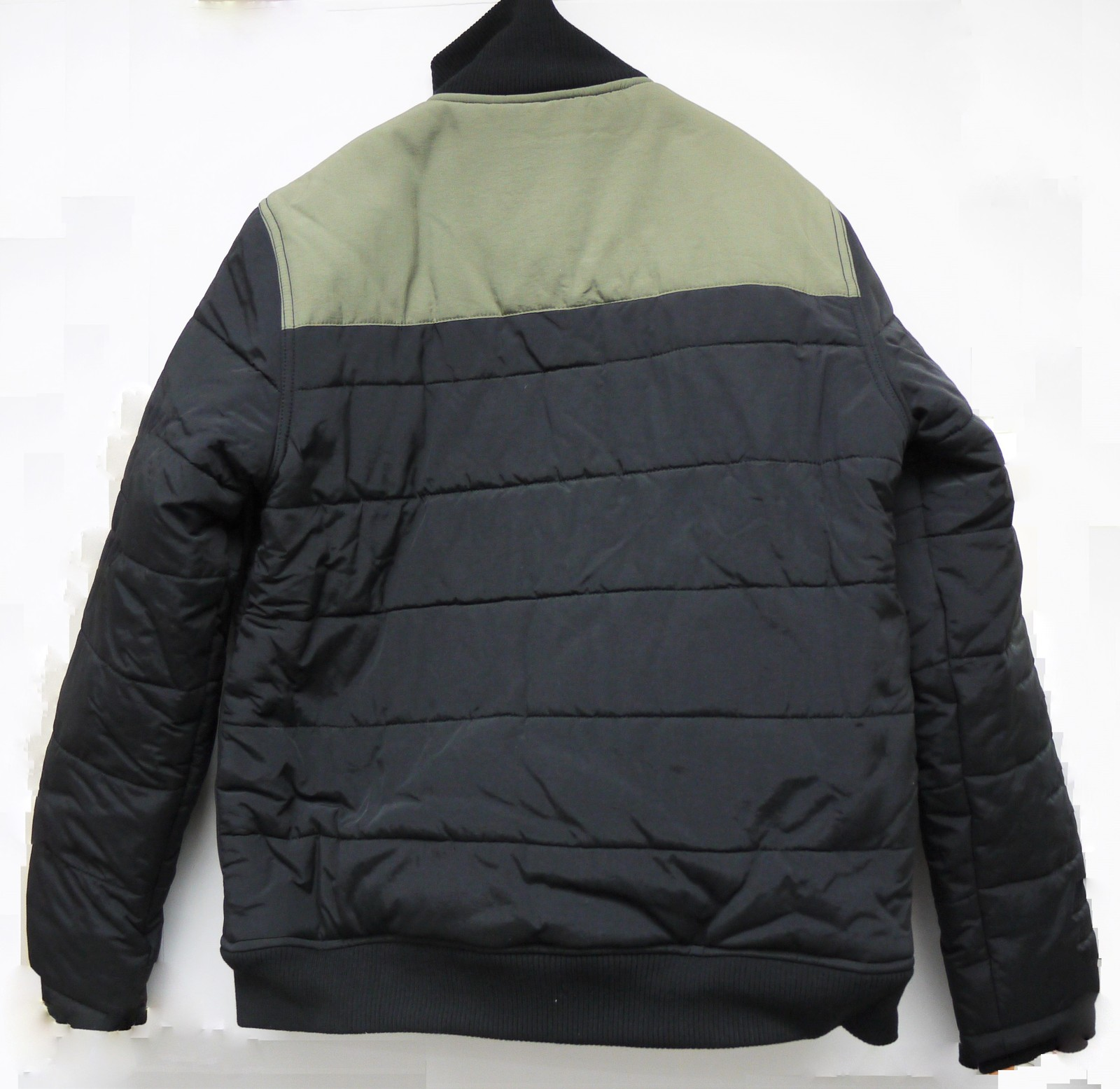 I5PCBKMM35 insight Heavyweight Puffer Black Coat Medium Size for Men