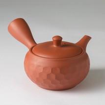 JINSUI - Hexagon - Premium Syudei kyusu teapot 270cc w handcrafted ceram... - $61.70