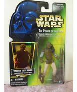Kenner Star Wars Power Of The Force Weequay Skiff guard action figure ha... - $6.92