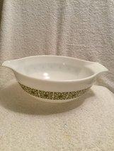 Vintage Pyrex Green Square (Verde) Cinderella Four (4) Quart Mixing Bowl... - $64.30