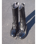 OFFICIAL ALDEN POLICE MOTORCYCLE BOOTS 7D - $450.00