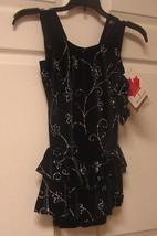 Mondor Model 2988 Velvet Skating Dress - Daisy Size 12-14 - $72.92