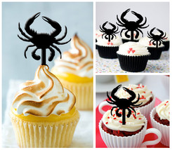 Ca259 cupcake toppers crab Package : 10 pcs - $10.00
