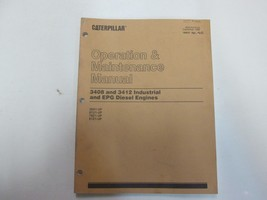 Caterpillar 3408 3412 Industrial EPG Diesel Engines Operation Maintenance Manual - $29.69
