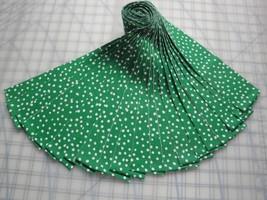 "Jelly Roll-White Polka Dots on Green B/G-20-2-1/2"" x 44"" strips-Choice F... - ₨978.73 INR"