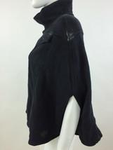 RPP 110£ Diesel Women's Fedusa Overcoat Kimono Color Black Size L 00BYF - $37.47