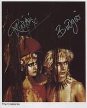 The Creatures (Band) Siouxsie Sioux Budgie SIGNED Photo + COA Lifetime G... - $109.99