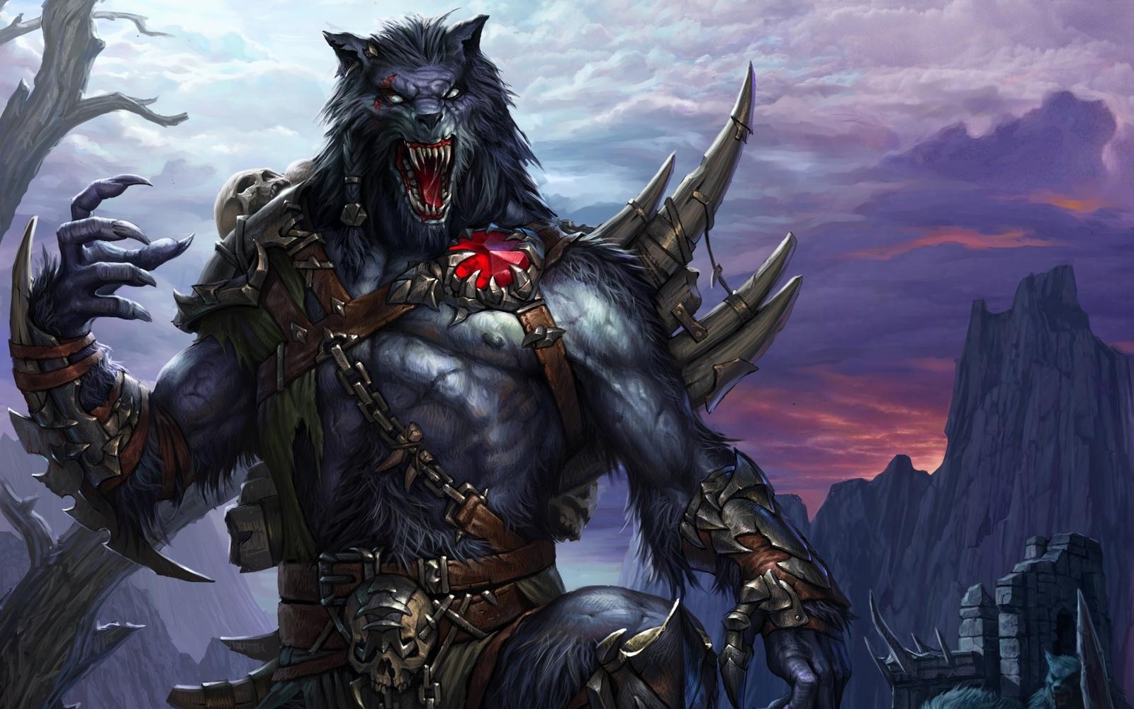 Haunted : Male Lagait Werewolf – Essence of the Wolf - Spirit of the Wolf