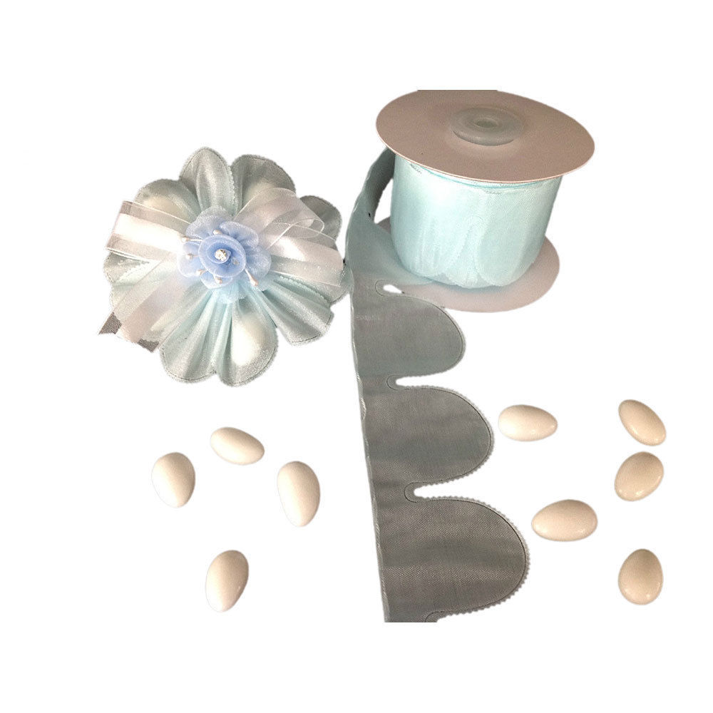 Blue Flower Pull Jordan Almonds Candy Bow and 16 similar items