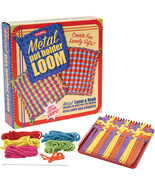 Pot Holder Maker Crafting Kit With Metal Loom A... - $24.00
