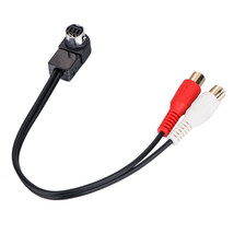 Hot Selling Aux Cable For Sony Headunit Jlink To Aux Input Rca Cable - $7.69