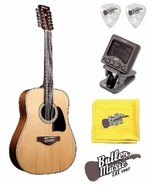 Ibanez Artwood AW8012-NT 12-String Acoustic Gui... - $302.99