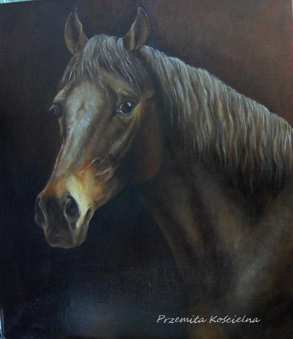 Czarny kon e