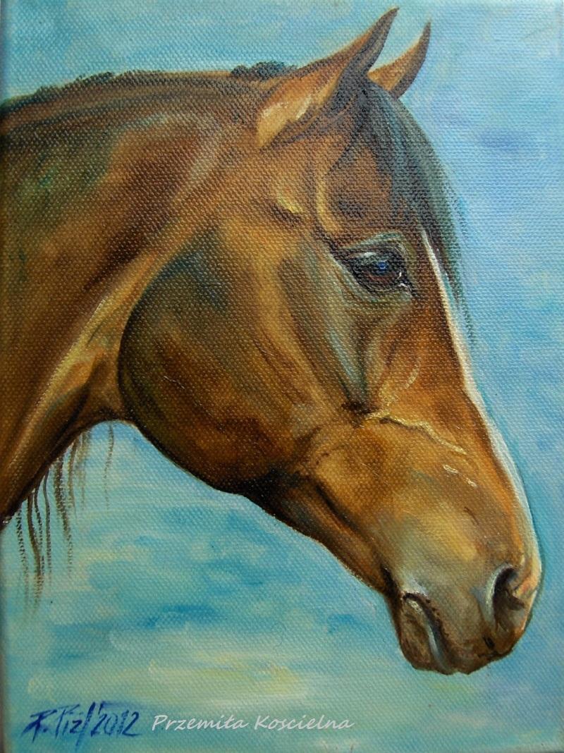 Custom horse portrait, Oil painting on canvas, Horse head paintng, Horse Artwork
