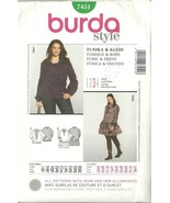 Burda Sewing Pattern 7451 Misses Womens Dress T... - $9.99