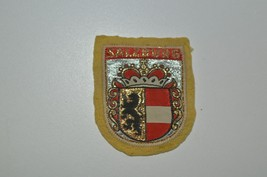VINTAGE SALZBURG PATCH ON YELLOW FELT - $8.42