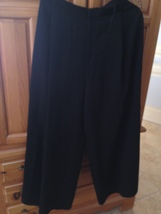 women's black pants size 12 by the country fair - $59.99