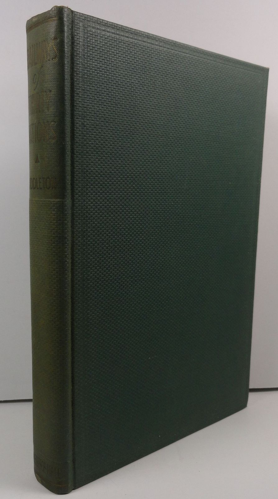 Railways of Thirty Nations by P. Harvey Middleton 1937